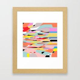 exercise  Framed Art Print