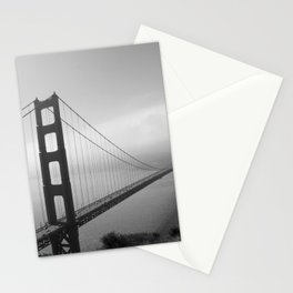 The Golden Gate Bridge In A Mist Stationery Cards
