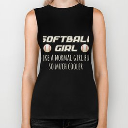 Best Costume For Softball Girls. Biker Tank