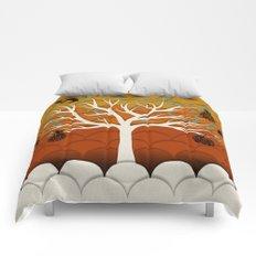 Fruits Talk White Comforters