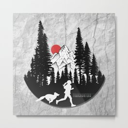 Trailhunters Metal Print
