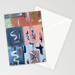 Colourful Chaos II Stationery Cards