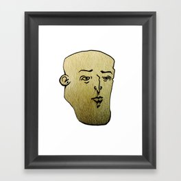 F A C E 3 Framed Art Print
