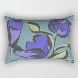 Mod + Moody Floral Vase Rectangular Pillow