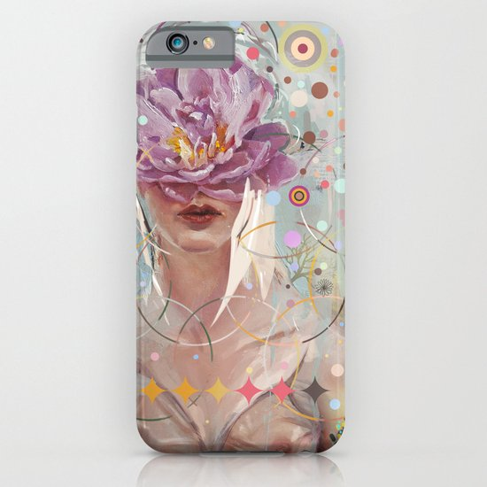 A flower in my garden iPhone & iPod Case