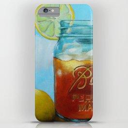 Tea and Lemon iPhone Case