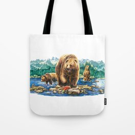 Grizzly Creek Tote Bag