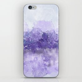Choppy Purple Ocean Water iPhone Skin