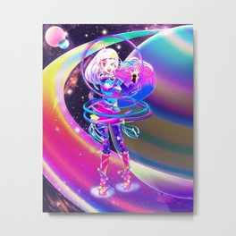 Cosmic Twinkle Lumiere Metal Print