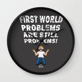 First World Problems - Phone Wall Clock