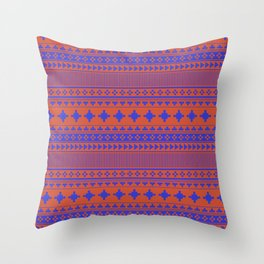 Navajo Ten Throw Pillow