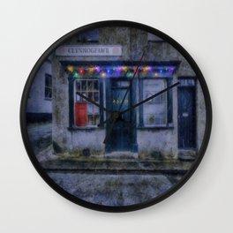 Christmas Post Office Wall Clock