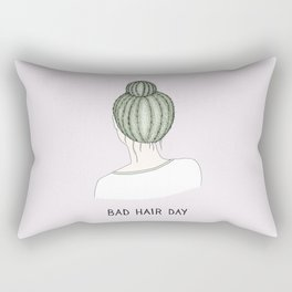 Bad Hair Day Rectangular Pillow
