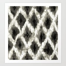 Ikat3 Art Print