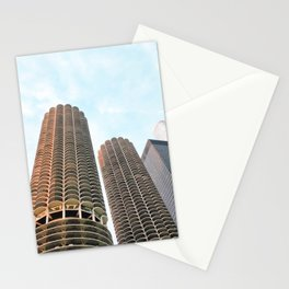 Marina Towers Chicago Stationery Cards