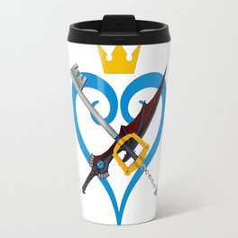 Kingdom Hearts キングダム ハーツ Keyblade Sora and Riku Travel Mug