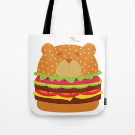Oso Hamburguesa (Burger Bear) Tote Bag