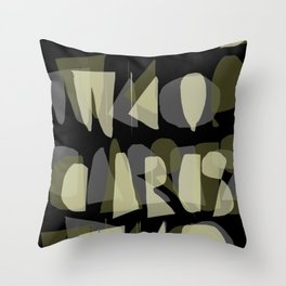 WHO CARES Throw Pillow