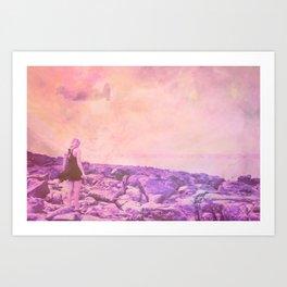 STARQUATIC DREAMS Art Print