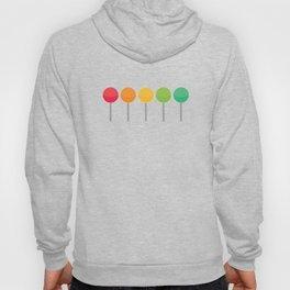 Rainbow lollypops Hoody