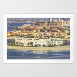 Luxury Property Dubai Art Print