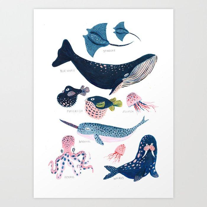Sea Life Kunstdrucke