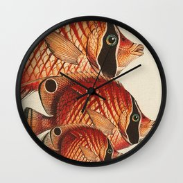 Fish Classic Designs 2 Wall Clock