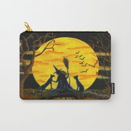 """""""Patience,Halloween Nears"""" Carry-All Pouch"""