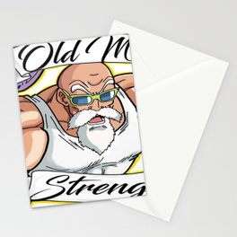 Old Man Stationery Cards