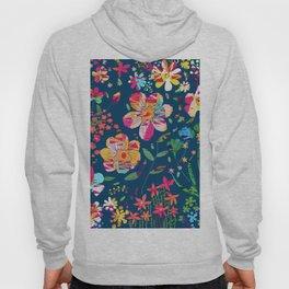 Paper Floral Hoody