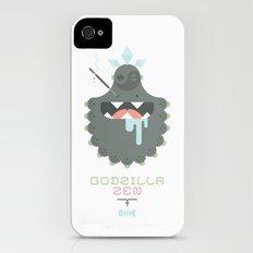 Godzilla Zen (Japan Contrasts series) Slim Case iPhone (4, 4s)