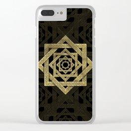 Golden Star of Lakshmi - Ashthalakshmi Clear iPhone Case
