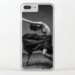 Ballerina Clear iPhone Case