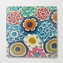 Murano Flowers Metal Print