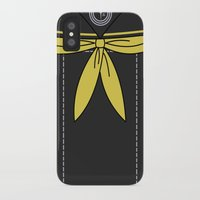 persona 4 iPhone & iPod Cases featuring Persona 4 Rise Kujikawa Uniform by Bunny Frost