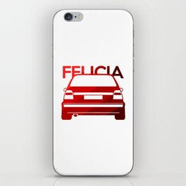 Skoda Felicia - classic red - iPhone Skin
