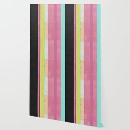 Retro Color Stripes By Hand Painting / Ver.1 Wallpaper