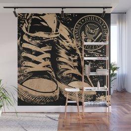 Ramones Shoes Wall Mural