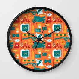 The Empty Hearse Wall Clock