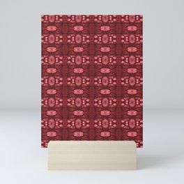Poppy Seed Capsule - Red Mini Art Print