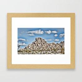 Rock Pile #4 Framed Art Print