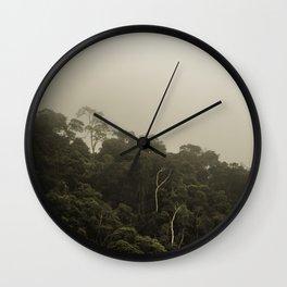 Tijuca Forest nº 17 Wall Clock