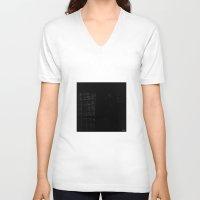 the lights V-neck T-shirts featuring LIGHTS: by BIGEHIBI