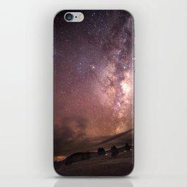Milky Way Star Burst NZ iPhone Skin