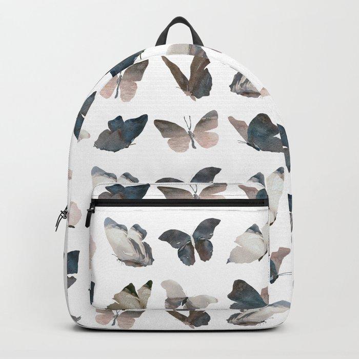 Butterfly Pattern 8 X 8 Backpack