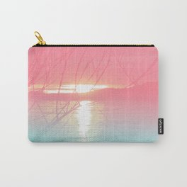 River Dreams//Pink Danube Carry-All Pouch