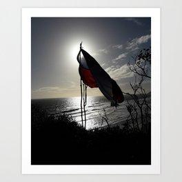 The Chilean Flag Art Print