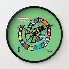Gioco dell'Oca - The Game of the Goose (RDVM06) Limited Edition Wall Clock