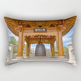 Korean Bell Building Rectangular Pillow