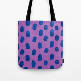 Deep Violet Blueberry Tote Bag